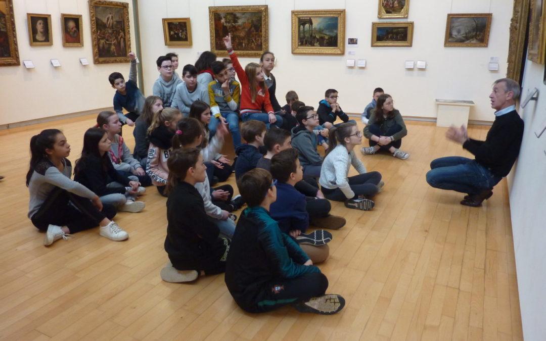 Les classes de 6ème au Musée des Beaux-Arts de Quimper