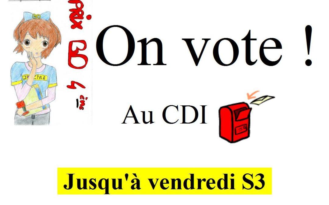 Prix BD : on vote toute la semaine