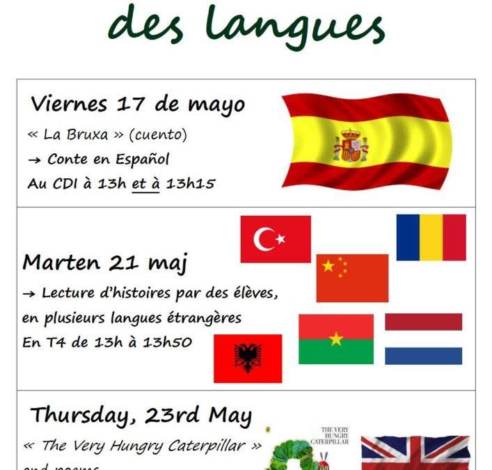 Quinzaine des langues