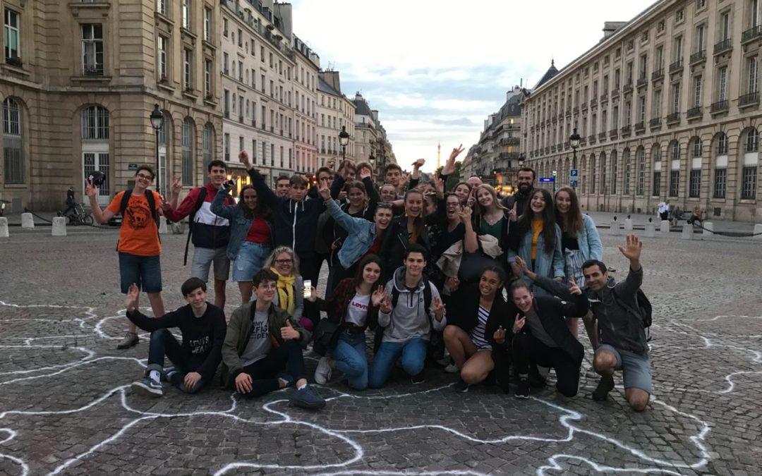 Voyage à Paris pour les 3èmes des groupes aéronautique et mini-entreprise