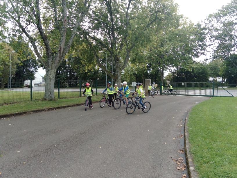 Journée de sensibilisation à la pratique sécurisée du vélo pour les élèves de 5ème