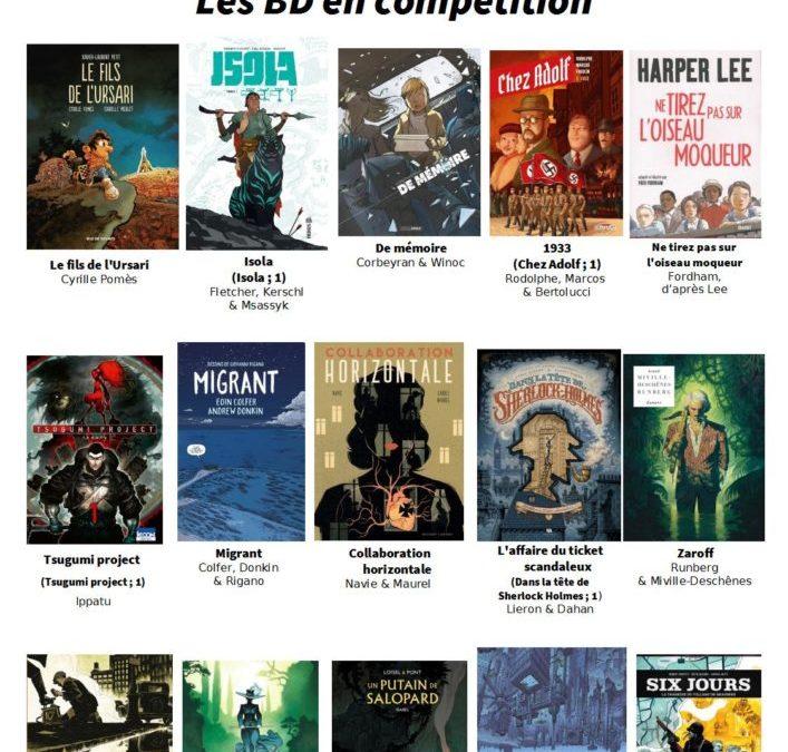 12e édition du Prix littéraire BD : les titres !