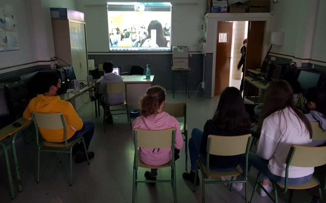 Des échanges virtuels avec l'Espagne au collège Pierre Stephan